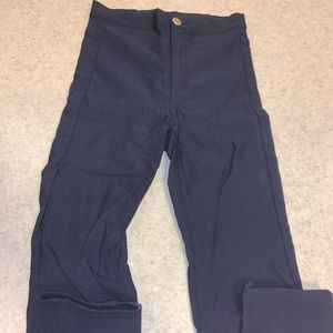 Blue H and M pants